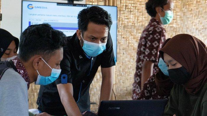 Perdalam Ilmu Teknologi Informasi, Sejumlah Siswa SMK di DI Yogyakarta Ikuti Magang di GMedia