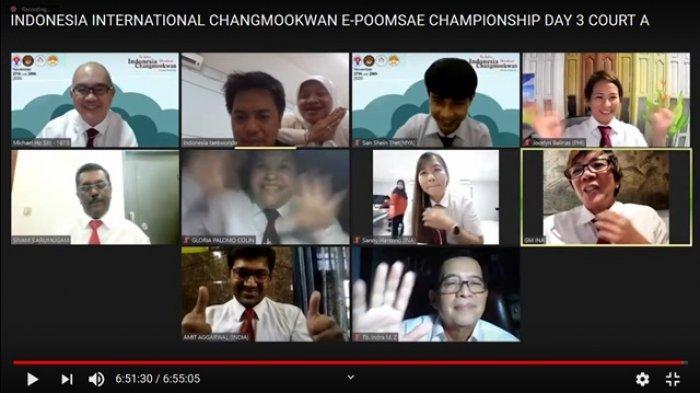PTHA Raih Juara Umum The Best of Indonesia Changmookwan International E-Poomsae Championships 2020