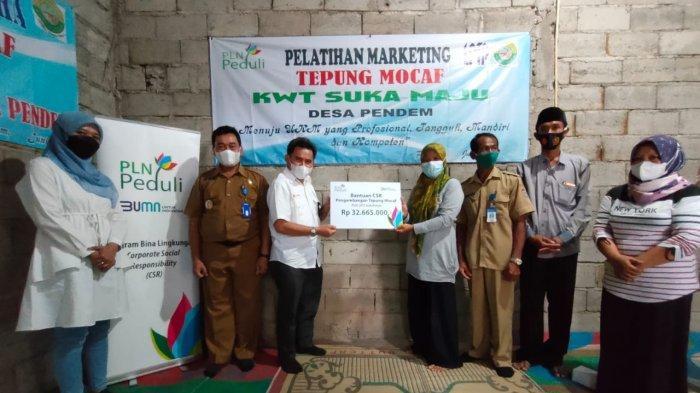 PLN UP3 Sukoharjo Gelar Pelatihan Pengembangan Tepung Mocaf untuk Kelompok Tani