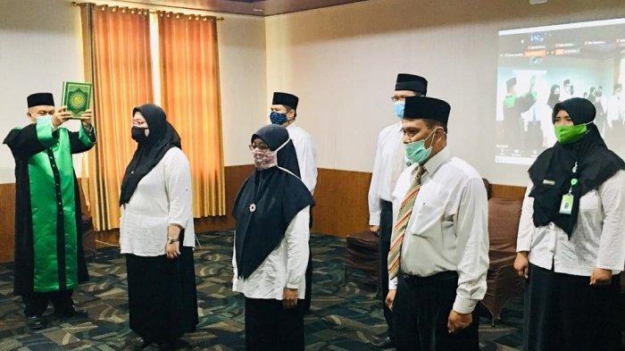 Kemenag DI Yogyakarta Lantik 6 Pejabat Fungsional Tertentu