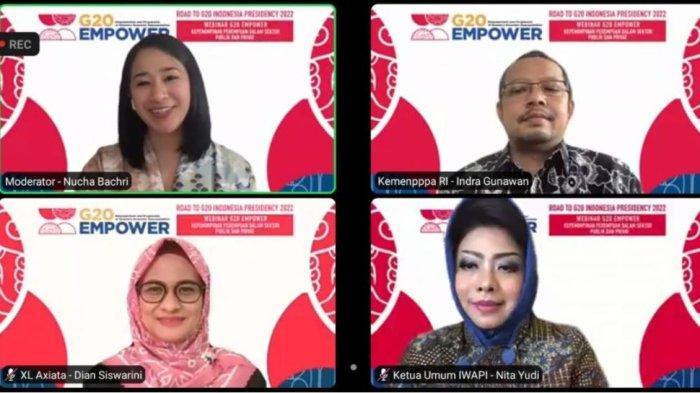 Kementerian PPPA RI, XL Axiata, dan IWAPI Sepakat Pentingnya Pemberdayakan Perempuan
