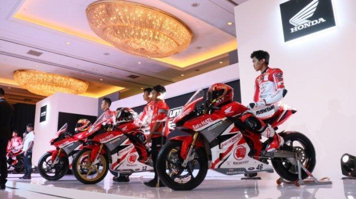 Kenalkan 14 Pembalap Muda, Rider Astra Honda Siap Harumkan Nama Indonesia
