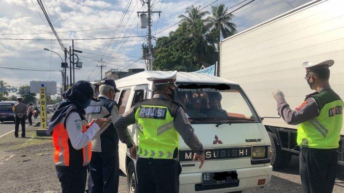 Ingin Pulang Kampung Ke Mataram, 5 Orang Ini Diminta Putar Balik