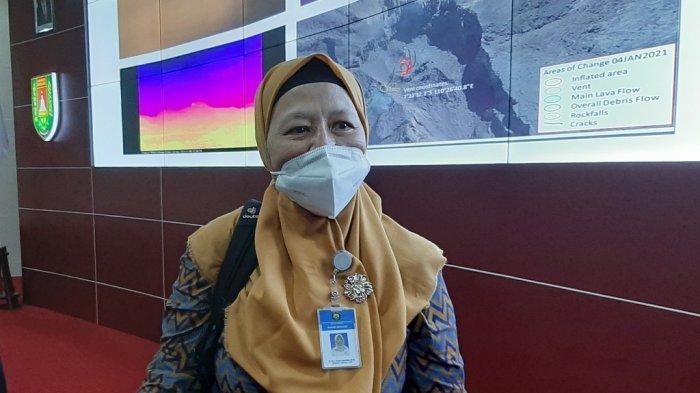 UPDATE Gunung Merapi, BPPTKG Sebut Kubah Lava 2021 Telah Terbentuk, Posisinya di Atas Lava 1997