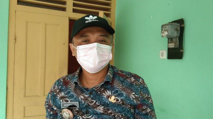 Kepala Desa Jonggrangan, Sunarna saat ditemui di kantor desa setempat, Selasa (23/2/2021).