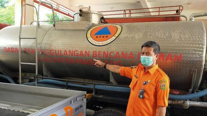 BPBD Kabupaten Magelang Siapkan Air Bersih 90 Tangki