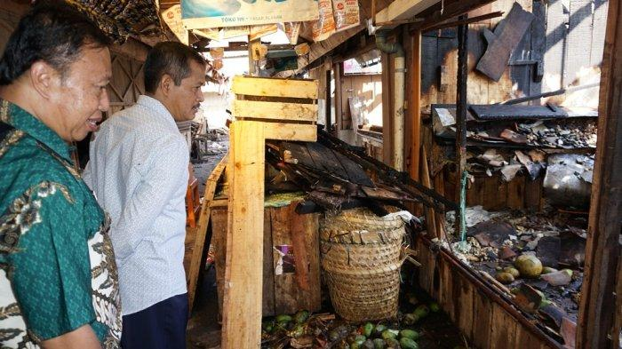 Kerugian Capai Rp 3 Miliar Akibat Kebakaran Pasar Mungkid, Pemerintah Bakal Bangun Pasar Darurat