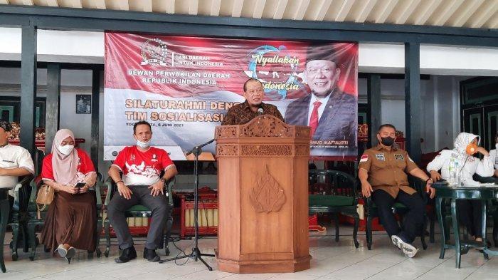 Ketua DPD RI Kunjungi Yogya, Gelombang Dukungan