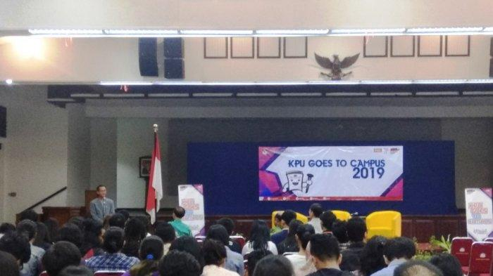 KPU DIY Jalin Kerjasama dengan UAJY Lewat Event 'KPU Goes to Campus'