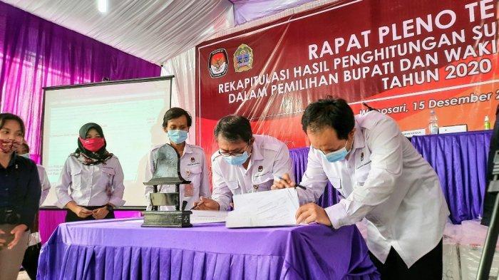 KPU Gunungkidul Buka Peluang Pengajuan Gugatan Hasil Pilkada ke MK