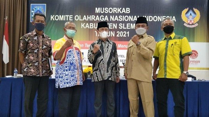 KONI Sleman Dipimpin Joko Hastaryo, Wabub Sleman Minta Sukseskan Porda 2022 Sebagai Tuan Rumah