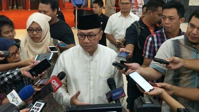 Zulkifli Hasan Pastikan PAN Terima Kemenangan Jokowi dalam Pilpres