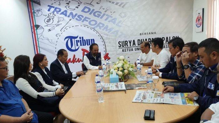 Surya Paloh: Kompetisi Pemilu Keras, Pers Jangan Jadi Pemicu Perpecahan