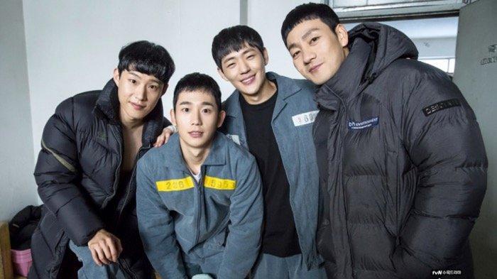 Kim Sung Cheol dan para pemain Prison Playbook