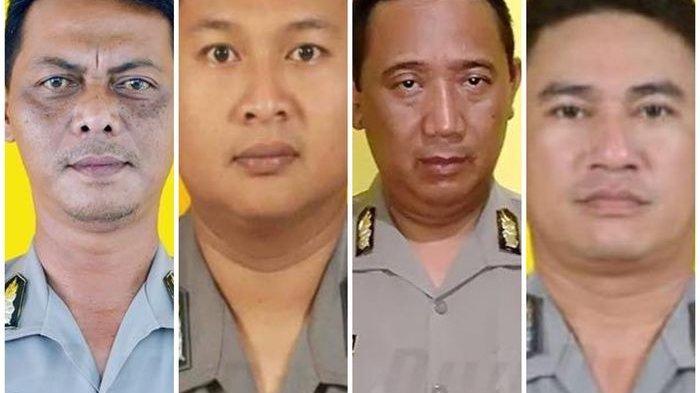 Kisah 4 Anggota Polisi Gugur Saat Tugas Jaga Penghitungan Suara Pemilu 2019