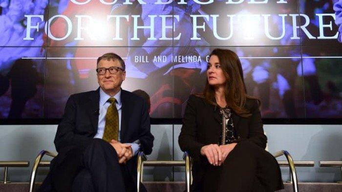 Bill dan <a href='https://jambi.tribunnews.com/tag/melinda' title='Melinda'>Melinda</a> Gates