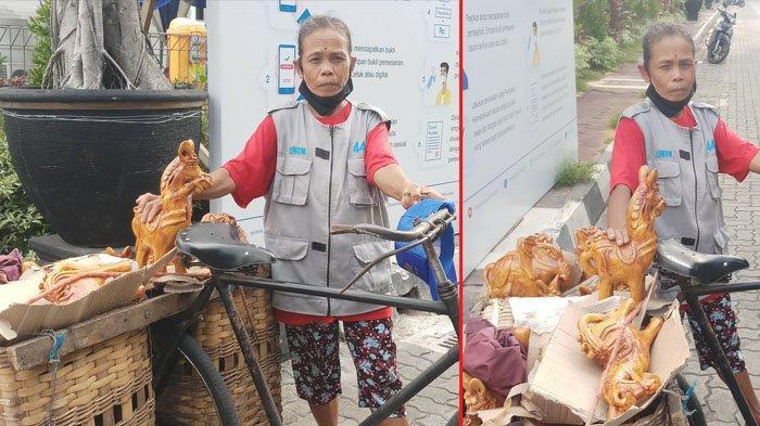 Kisah Mbah Sidep Penjual Gerabah, Keliling Yogyakarta Naik Sepeda Mencari Rezeki