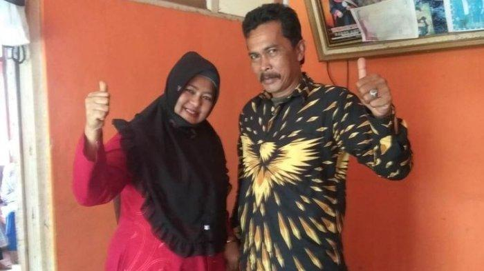 KISAH Suami-Istri Berhadapan di Pemilihan Kepala Desa, Kampanye pun Berdua