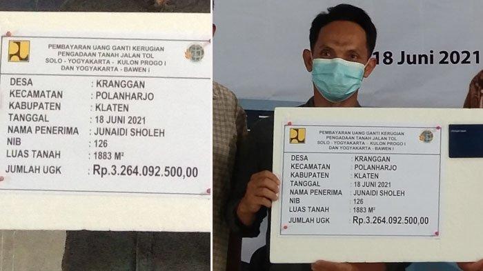 Kisah Warga Klaten Terima Uang Miliaran Ganti Rugi Tol Yogyakarta-Solo