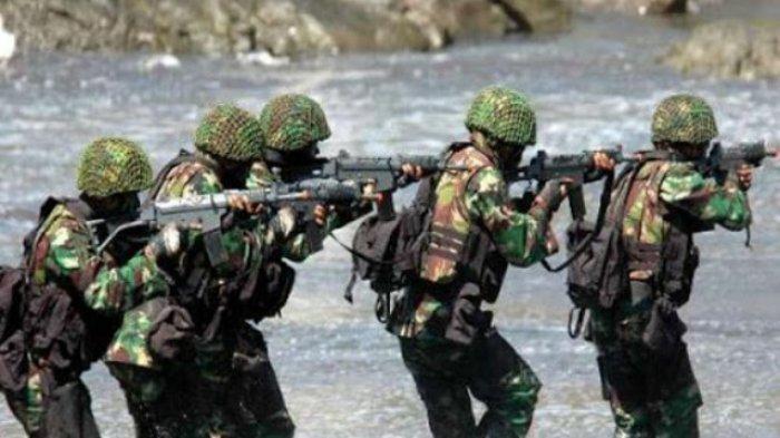 Baku Tembak TNI dengan KKSB Kembali Terjadi di Pegunungan Bintang Papua