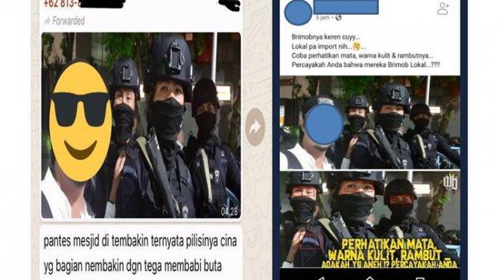 Penyebar Hoaks 'Polisi Impor' di Demo 22 Mei Ditangkap, Dianggap Sebarkan Kebencian dan SARA