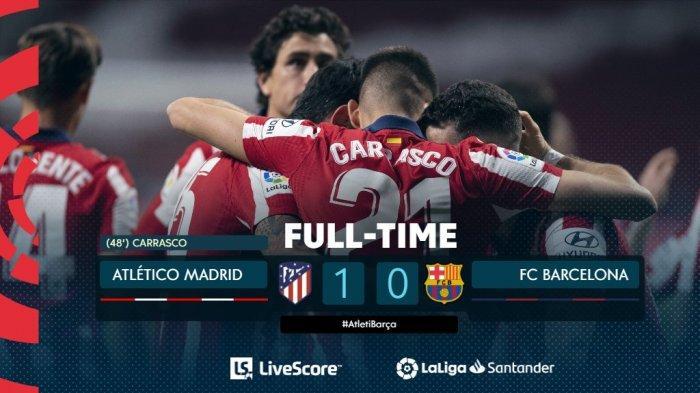 KLASEMEN Liga Spanyol, Barcelona Jauh dari Zona Liga Champions, Madrid di Batas Akhir