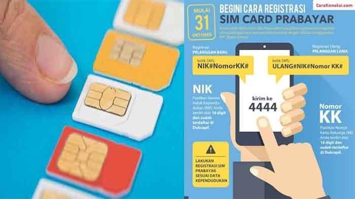 Kode Registrasi Kartu Perdana Indosat Smartfren Tri Xl Telkomsel Tribun Jogja