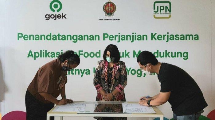Kolaborasi Gojek dan Pemrov DIY Dukung UMKM Melalui Program Gratis Ongkir SiBakul