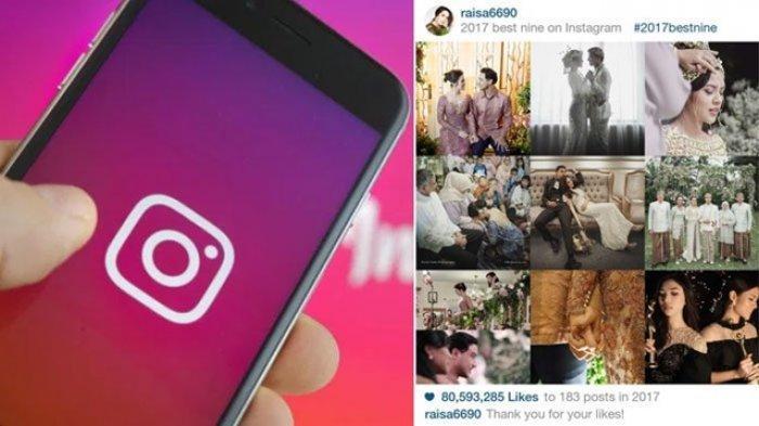 Cara Lengkap Dan Mudah Membuat Foto Kolase Best Nine Di Aplikasi Instagram Sambut Tahun Baru 2020 Tribun Jogja