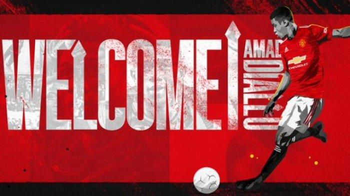 Amad Diallo Resmi Menjadi Pemain Manchester United