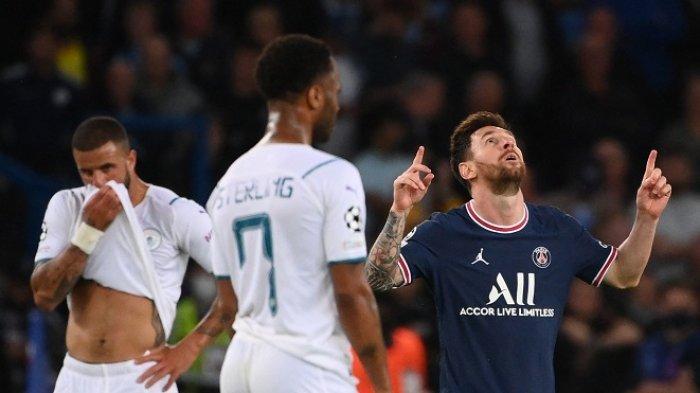 Komentar Guardiola Man City Dikalahkan PSG, Tak Mungkin Kendalikan Leo Selama 90 menit