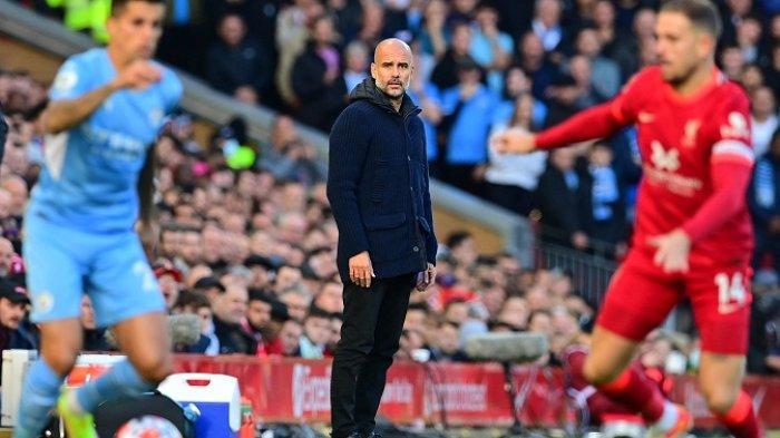 Komentar Pep Guardiola Man City Berhasil Menahan Imbang Liverpool di Anfield