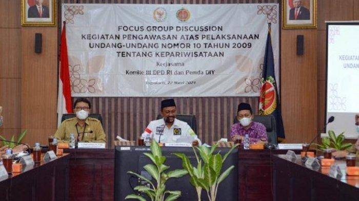 Komite III DPD RI Nilai Pariwisata DI Yogyakarta Mulai Bangkit