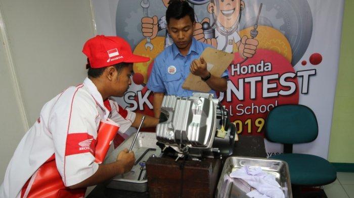 Kompetisi VokasiAstra Honda Mulai Dibuka