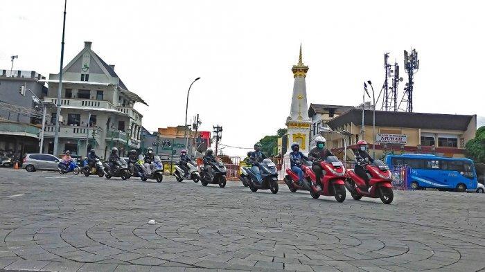 Komunitas Motor Honda Yogyakarta Jajal Bareng Performa Honda PCX160