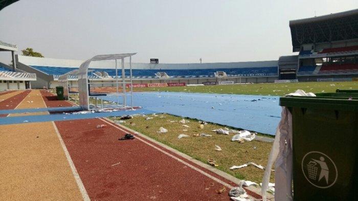Kondisi Terkini Stadion Mandala Krida Pascakerusuhan di Laga PSIM Yogyakarta vs Persis Solo