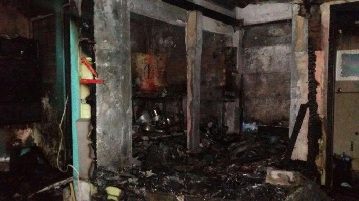 Diduga Karena Hubungan Pendek Arus Listrik, Satu Rumah Makan di Sleman Terbakar