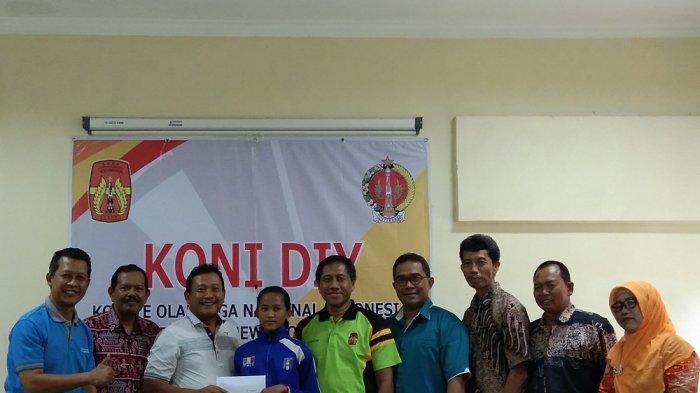 KONI DIY Lepas Pelari Junior Mutiara Oktarani Nurul Al-Pasha Menuju Pelatnas