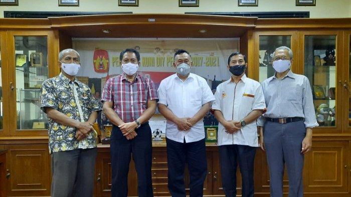 KONI Jateng Gelar Kunjungan ke KONI DIY, Bahas Musornaslub dan Peluang Jadi Tuan Rumah Bersama PON