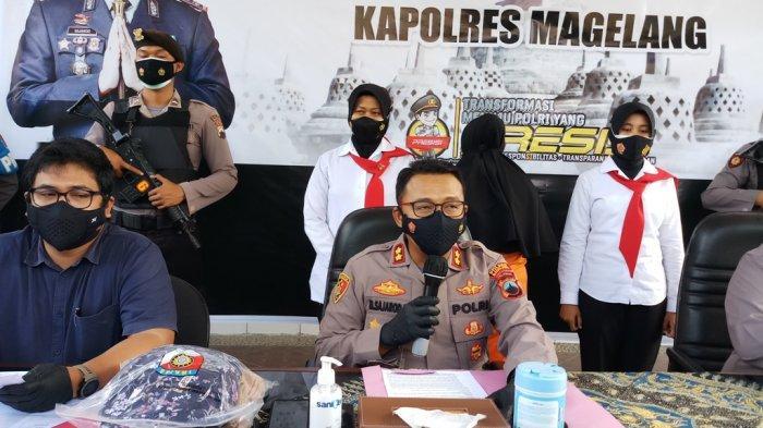 Pelaku Arisan Online Bodong dengan Omzet Ratusan Juta Berhasil Diamankan di Polres Magelang