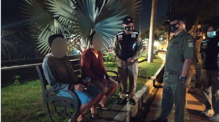 Konsumsi Miras di Taman Kota Magelang, Dua Pemuda Diciduk Satpol PP