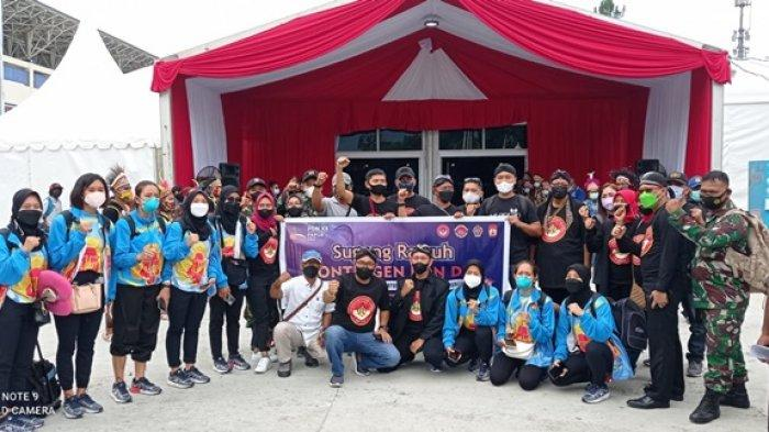 Paguyuban Warga Ngayogyakarto di Papua Sambut Kontingen Atlet DIY yang Akan Berlaga di PON XX
