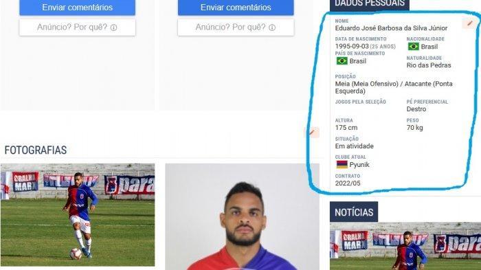 Juninho akan bermain di Pyunik sampai Mei 2022 mendatang.