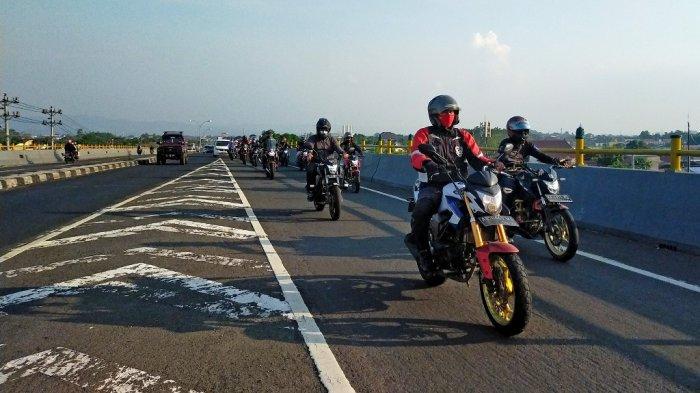 Kopdar Laki Honda CB150R Yogyakarta Tumbuhkan Solidaritas Pada Sesama