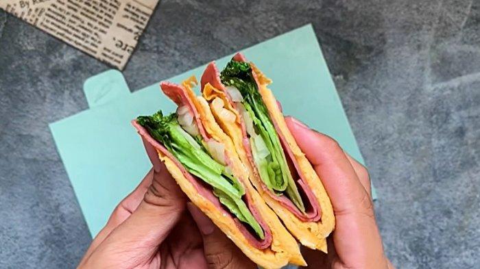 Resep Korean Sandwich yang Viral di TikTok