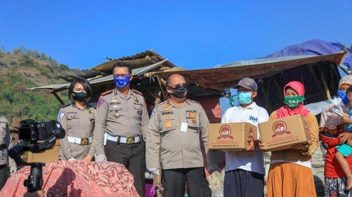 Bhakti Sosial Serentak Korlantas Polri Peduli di DIY Digelar di TPST Piyungan