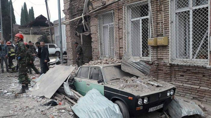 Perang Azerbaijan Vs Armenia: Dua Kubu Klaim Daerah Sipil Diserang, Pertempuran Meningkat