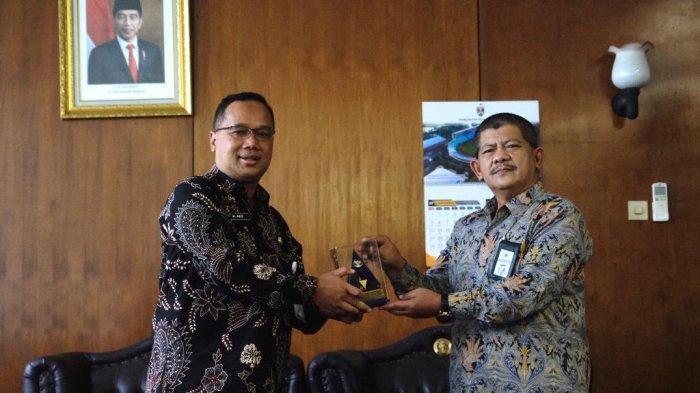 Kota Magelang Terima Piagam WTP atas Laporan Keuangan Tahun 2020