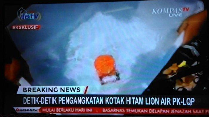 Kotak Hitam Lion Air JT-610 Diangkat Penyelam Intai Amfibi