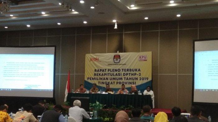 KPU DIY : Ada Peningkatan Jumlah Pemilih Sebesar 4.4806 Orang dalam Rekapitulasi DPTHP 2